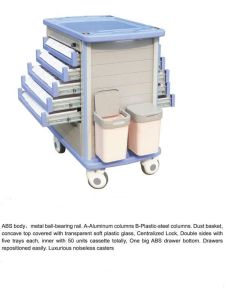 Hospital Medicine Trolley (THR-MT8500IA2) pictures & photos