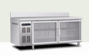 Glass Door Under Counter Refrigerator pictures & photos