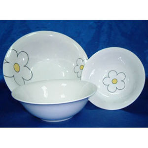 "Porcelain Salad Bowl / Soup Bowl 9"" (BOL70101)"