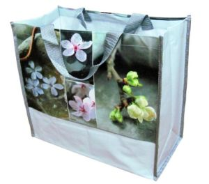 Print Peach Blossom Promotional Bag