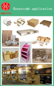 Hcm-1600 Paper Honeycomb Core Production Line pictures & photos