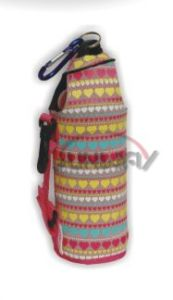 Fashionable Insulated Neoprene Water Bottle Cooler Wtih Custom Printing (BC0052) pictures & photos