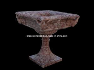Flower Planter, Marble Planter, Stone Urn (GS-FL-053) pictures & photos