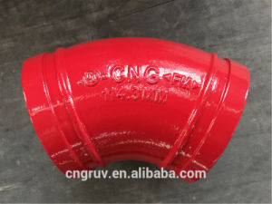 114.3 45deg Grooved Elbow, Grooved Fitting pictures & photos