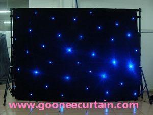 Bar Decoration Light RGB Star Curtain / LED Curtain