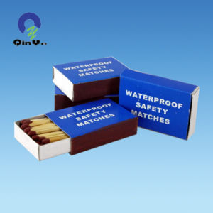 Waterproof Safety Matches Box pictures & photos
