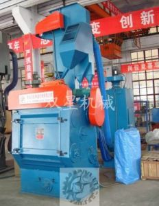 Portable Shot Blasting Machine for Cleaning Metal Part pictures & photos