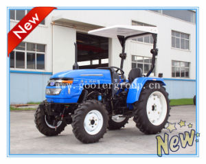 4WD Farm Tractor 40HP with Rigeops Sunshade (HS404-1) pictures & photos