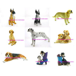 Polyresin Dog Statue of Animal Garden Dog pictures & photos