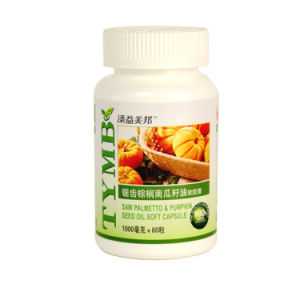 Saw Palmetto and Pumpkin Seed Oil Soft Capsule 1000mg X 60 Capsules pictures & photos