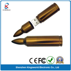 Metal Bullet USB Flash Drive Pen Drive pictures & photos