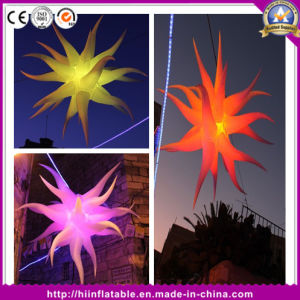 Illuminated Inflatable Star for Party Open Ceremony Decoration