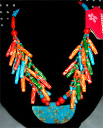 Fashion Bone Necklace (022-80)