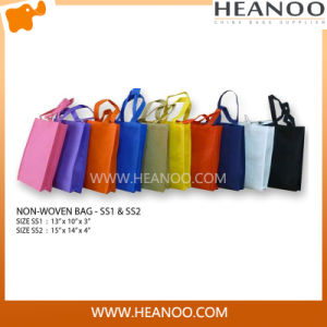 Colorful Foldable Handle Reusable Eco Shoulder Tote Shopping Bags pictures & photos