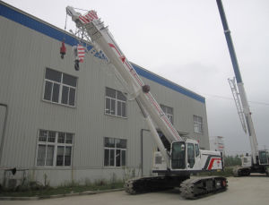 Telescopic-Boom Crawler Crane Capacity 25 Ton With Four Boom