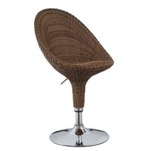 Modern Leisure Rattan Bar Stool for Outdoor Garden pictures & photos