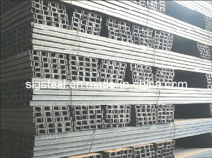 Hot Rolled Channel Steel, Carbon Mild Structural U Channel Steel pictures & photos