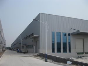 Modern Designed Steel Structure Workshop Building (KXD-SSW165) pictures & photos
