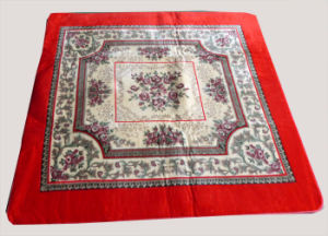Most Popular 100% Polyester Printed Aubusson Rugs pictures & photos