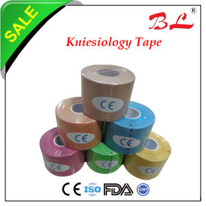 100% Cotton Elastic Colorful Kinesiology Tape for Sport Protection Sport Tape pictures & photos