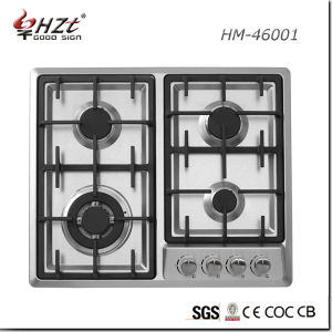 Built-in Stainless Steel Kitchen Appliance Gas Hob