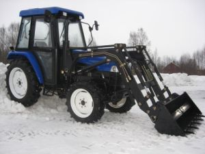 50HP Agricutural Tractor with Loader and Excavator Farm Equipment pictures & photos