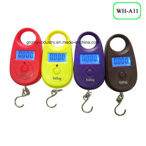 Electronic Digital Luggage Scale 25kg pictures & photos