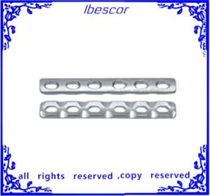 Restricted Compression Plate Metallic Bone Plates