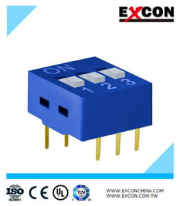 DIP Switch Excon RS-03-B Piano Key Switch pictures & photos