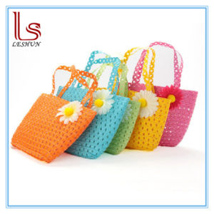 Hot Sale Summer Flower Children Straw Bags pictures & photos