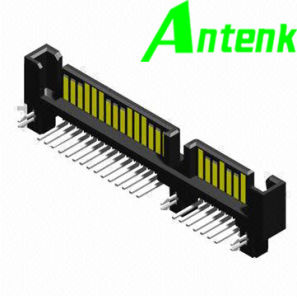 SATA Connector, with Right Angle Type, 7 + 15 Pins Male pictures & photos