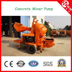 Hbt0804-Jzc200 Mini Diesel Engine Concrete Mixer Pump pictures & photos