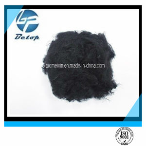 Black Polyester Staple Fiber PSF/ Good Quality PSF/ Recycled PSF pictures & photos