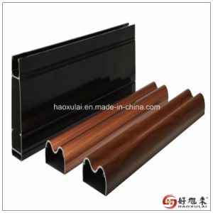 Decoration Aluminum Profile with Wood Grain