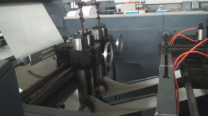 Web Flexo Printing and Cold Gluing Binding Production Line for Notebook Exercise Book Student Diary pictures & photos