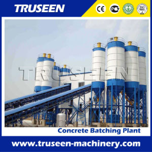 Hzs180 Large Storage Capacity Construction Machine/Concrete Batching Plant pictures & photos