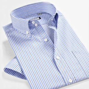 Custom 100% Cotton Men′s Business/Casual /Dress Shirt pictures & photos