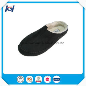 High Quality Cow Real Leather Moccasin Slippers for Men pictures & photos