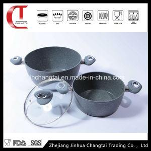 4 PCS Forged Aluminum Sauce Pot Set