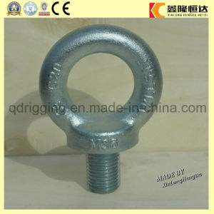 Carbon Steel Drop Forged Galvanized Lifting Eye Bolt DIN580 M64 pictures & photos
