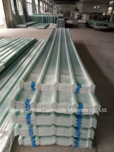 FRP Panel Corrugated Fiberglass/Fiber Glass Roofing Panels T171002 pictures & photos