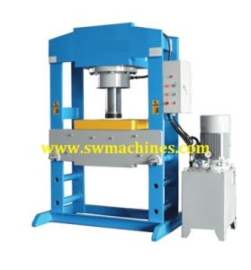 Hydraulic Workshop Press with Bending Function pictures & photos