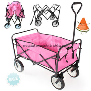 Cheap Heavy Duty Foldable Wagon Folding Tool Cart pictures & photos