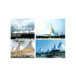 PTFE Coated Fiberglass Fabric for Architectural Membrane pictures & photos