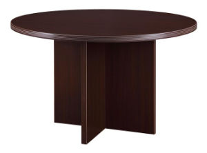 Modern High Quality MFC Board Office Furniture Round Table pictures & photos