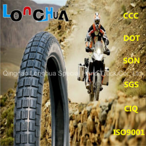 High Nature Rubber Percent Motorcycle Tire for Mexico Market (2.50-16) pictures & photos