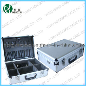 Aluminum Tool Case Box Tool Kit Box Set Toolcase (P2598) pictures & photos