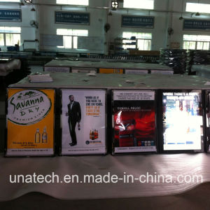 Indoor Wall-Mountnd Aluminium Advertising Slim Scrolling Light Box Signs pictures & photos