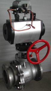 Electric Flanged Ball Valve (Q941F-150LB) pictures & photos