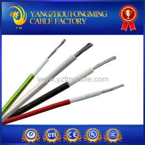 200deg. C High Temperature Copper Silicone Insulated Fiberglass Braiding Lead Wire pictures & photos